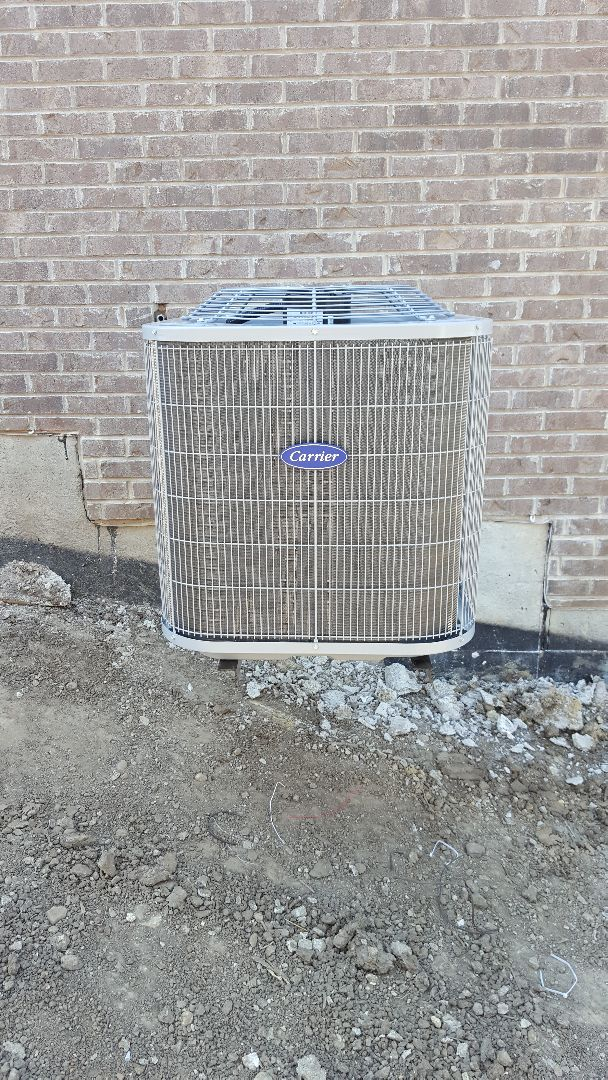 Warrenville, IL - New carrier air conditioning installation