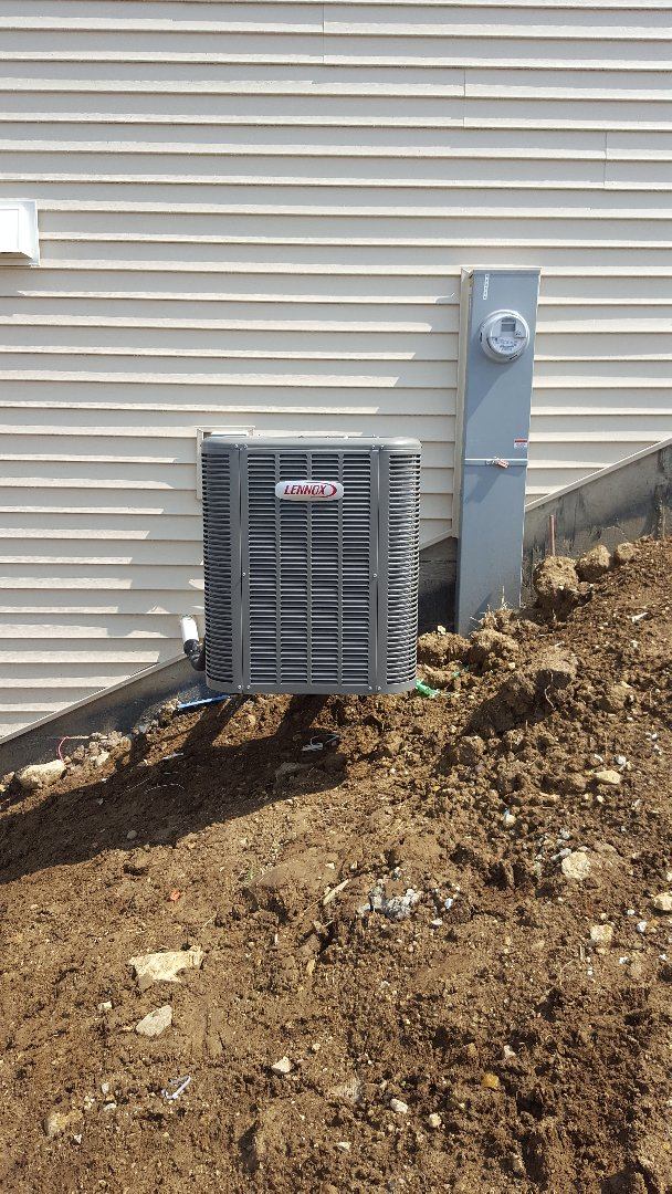 Yorkville, IL - New lennox air conditioning installation