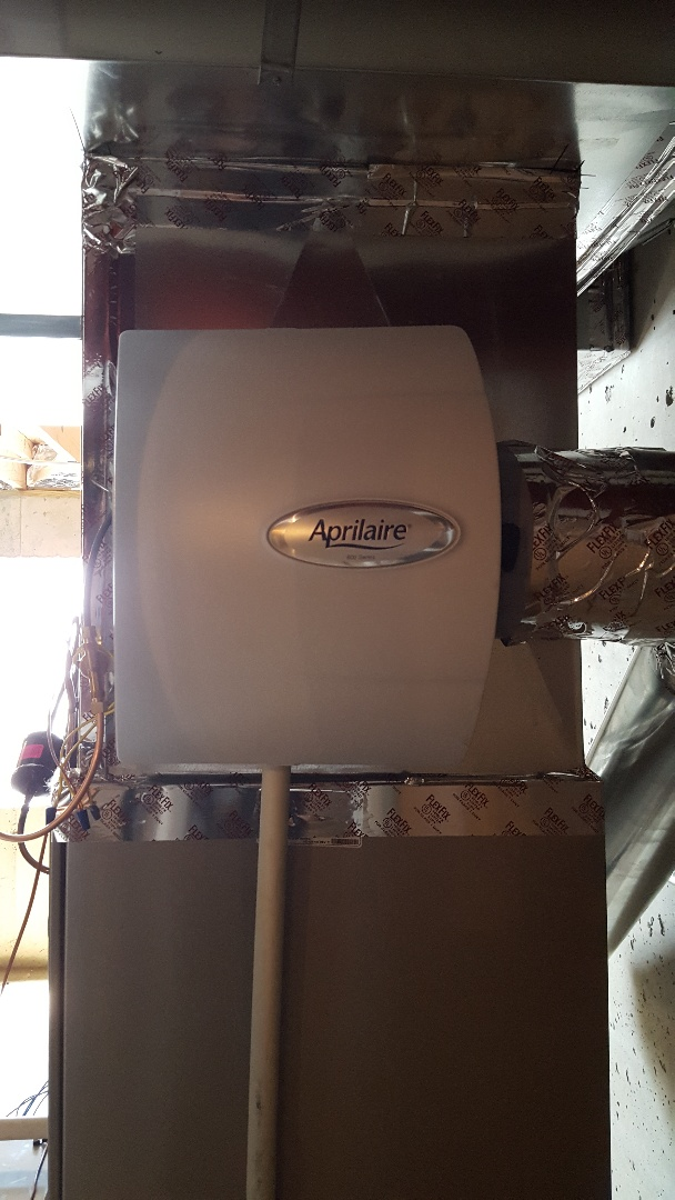 Lemont, IL - Installed New humidifier