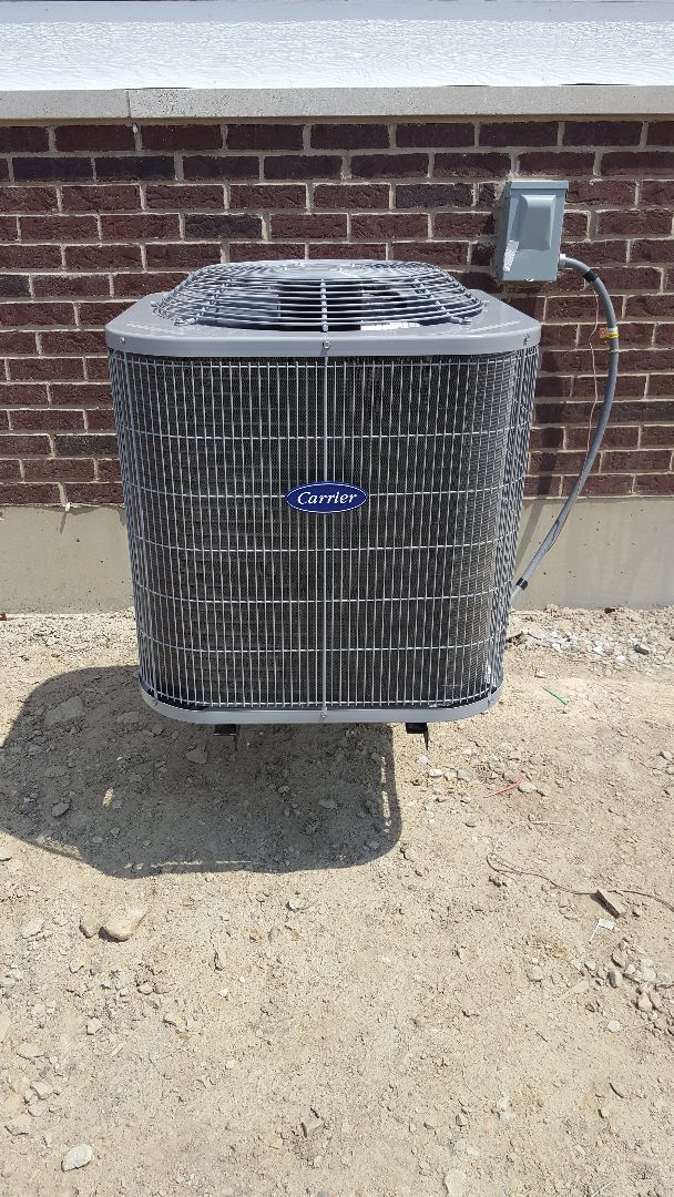 Lockport, IL - New carrier air conditioning installation