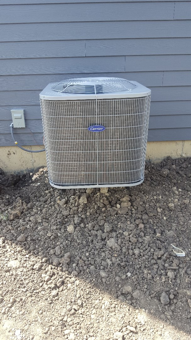 Wheaton, IL - New carrier air conditioning installation