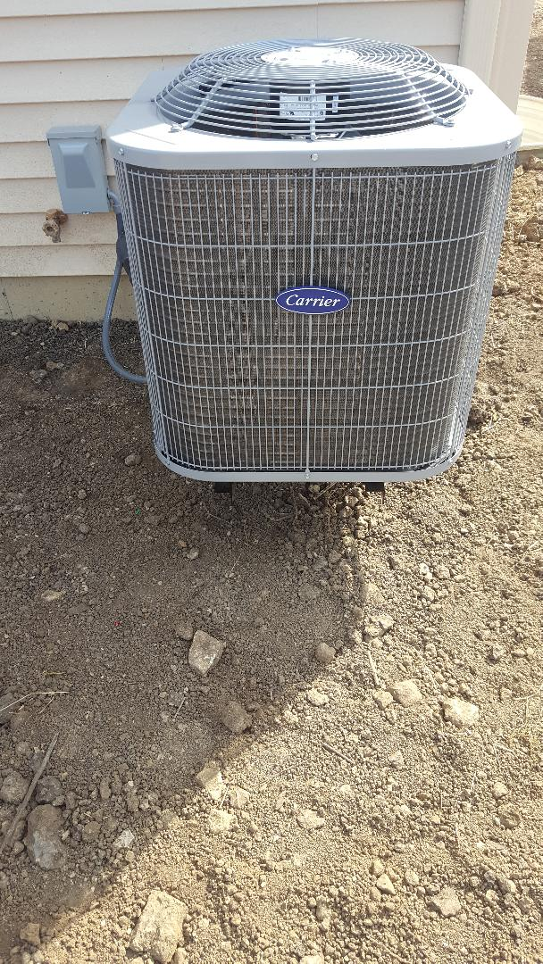 Romeoville, IL - New carrier air conditioning installation
