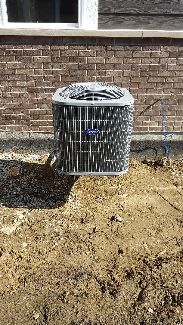 Lisle, IL - New carrier air conditioning installation