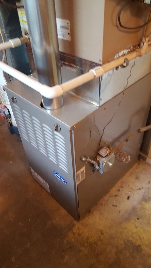 Lombard, IL - Carrier furnace change out
