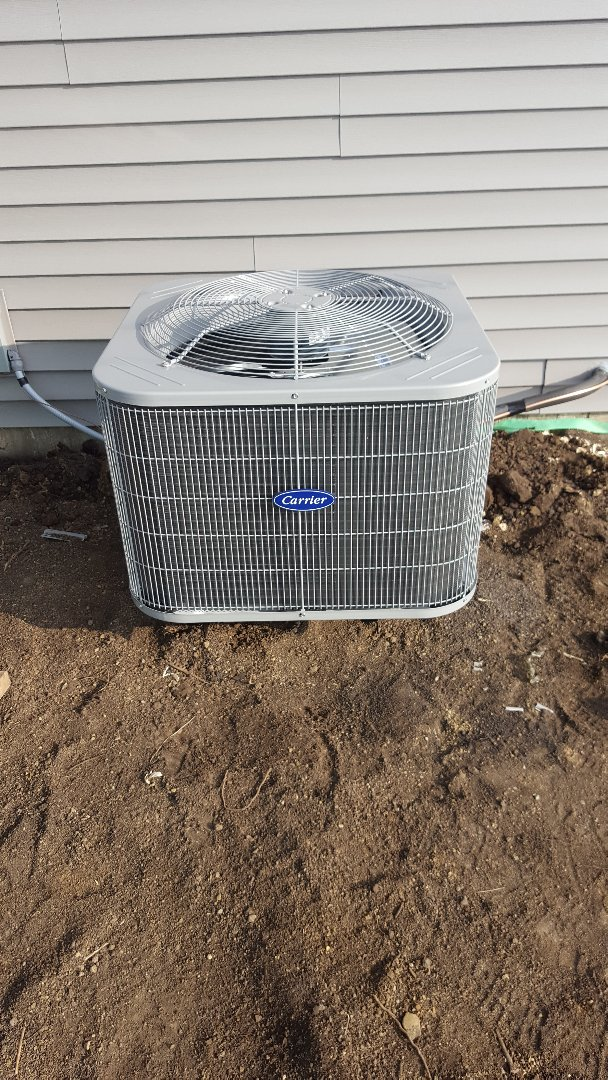 Woodstock, IL - New carrier a/c install