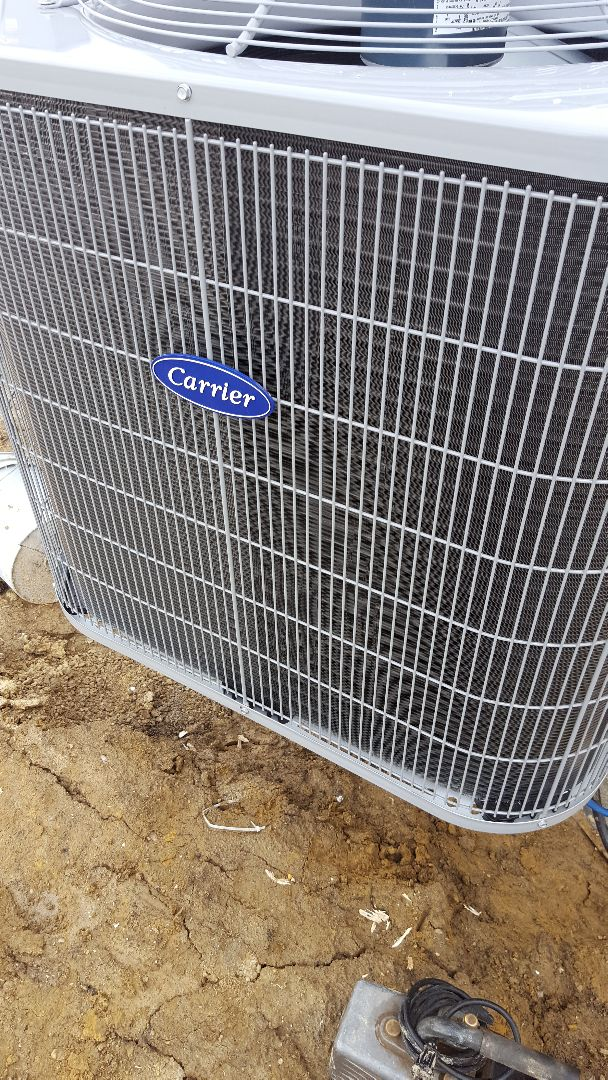 Shorewood, IL - New carrier air conditioning installation