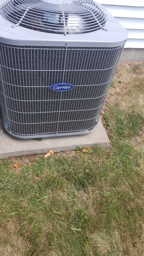 McHenry, IL - Carrier air conditioner change out