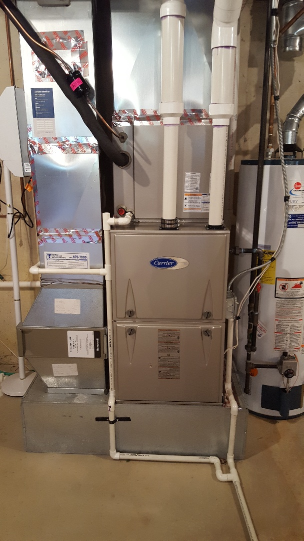 Palos Heights, IL - New carrier furnace change out