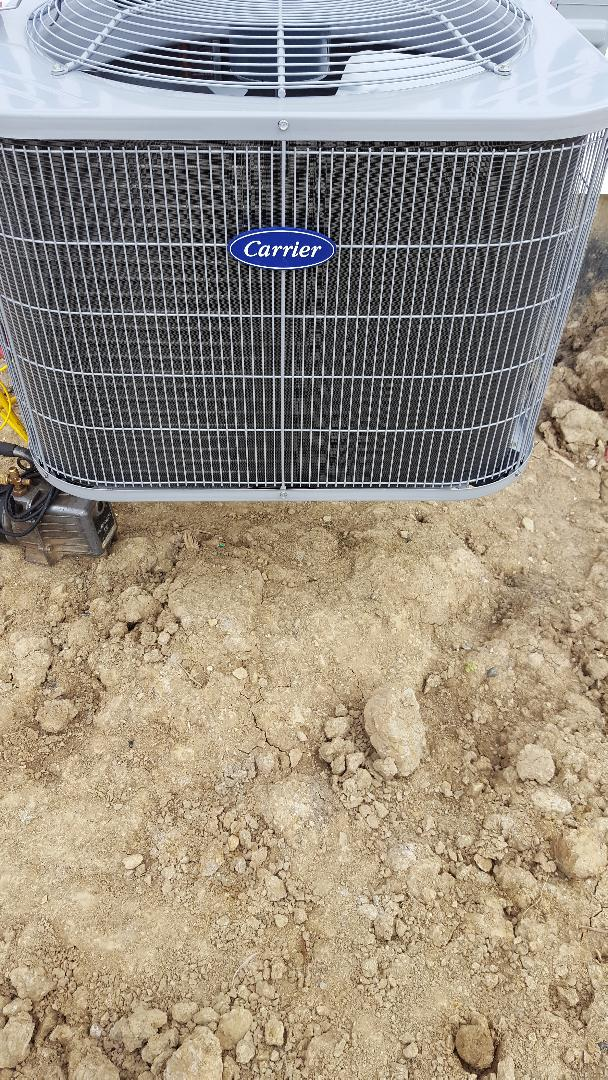 Lemont, IL - New carrier air conditioning installation