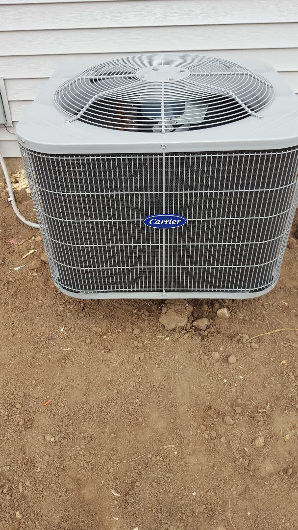 Plano, IL - New carrier air conditioning installation
