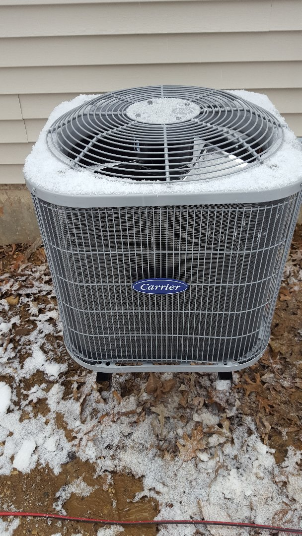 Fox Lake, IL - New carrier air conditioning installation