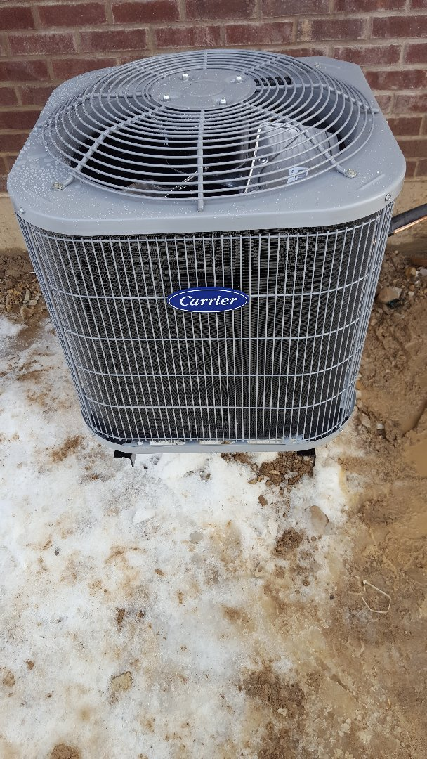 Downers Grove, IL - New carrier air conditioning installation
