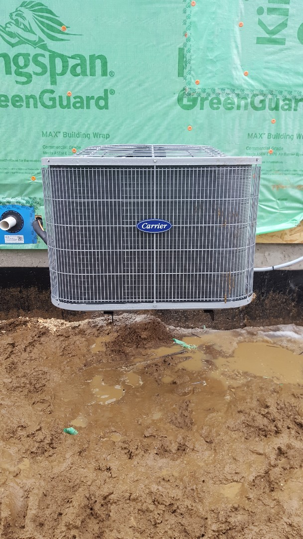 Hoffman Estates, IL - New carrier air conditioning installation