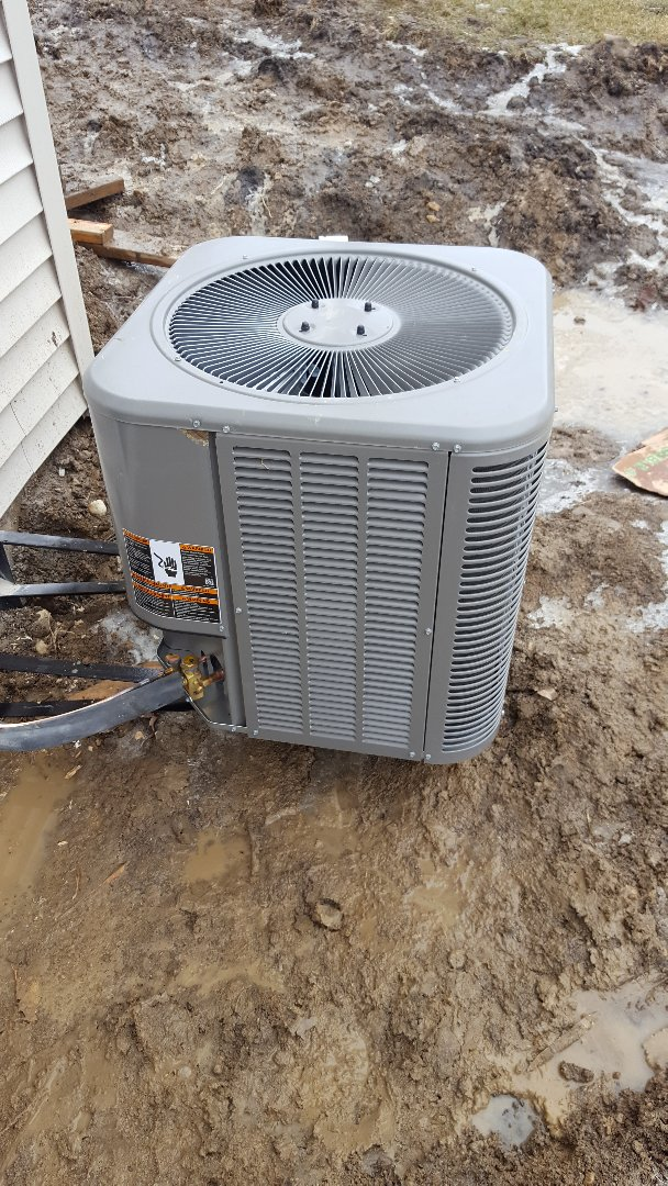 Romeoville, IL - Install new lennox air conditioner