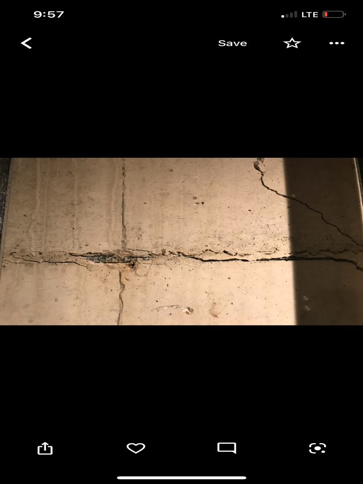 Red Bud, IL - Horizontal foundation crack, carbon fiber needed.