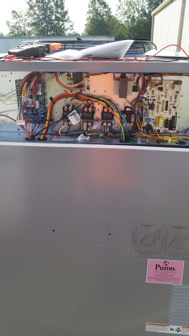 Ecru, MS - Wiring up units