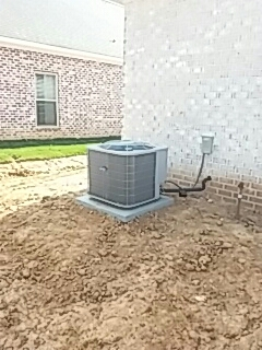 New Albany, MS - Another new installation to keep the customer comfortable and cool.