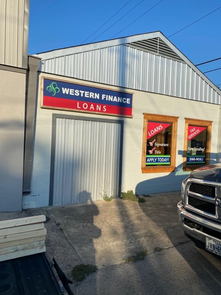 Lockhart, TX - Installing a new door.