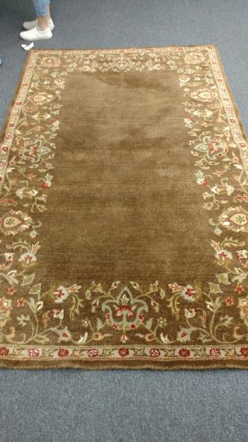 Cleaned some beautiful rugs for a satisfied customer!