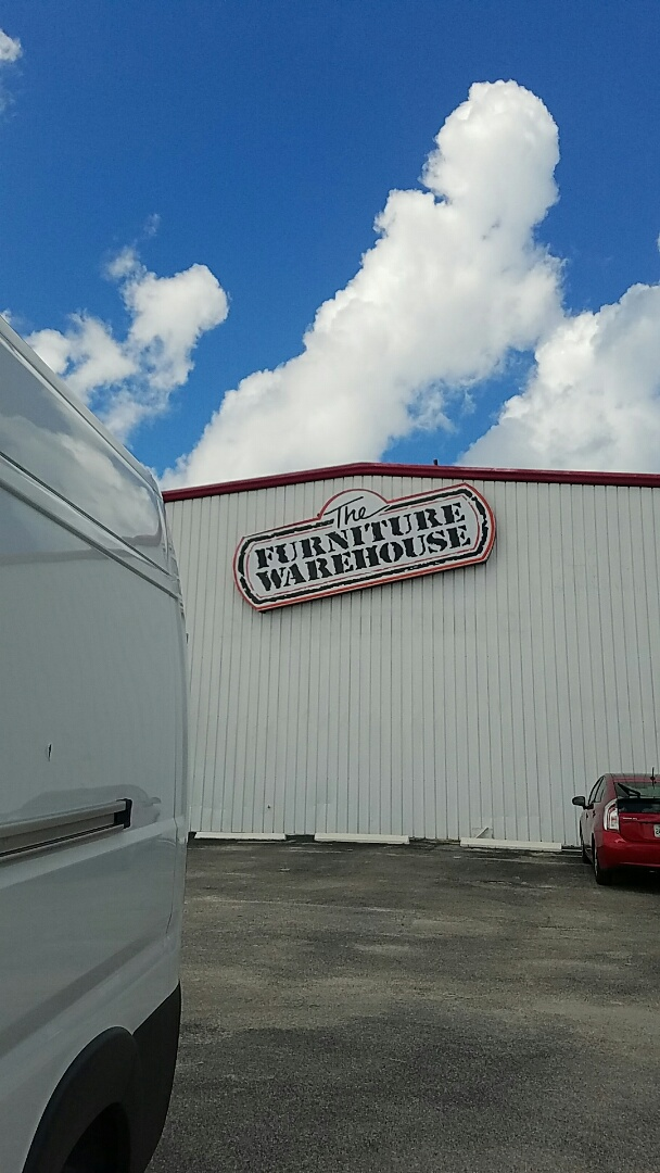 Venice, FL - Fixing water leak at Furniture Warehouse on Tamiami Trail in venice