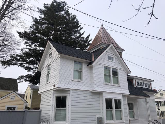 Stonington, CT - GAF Timberline Ultra Shingles and Copper Roof