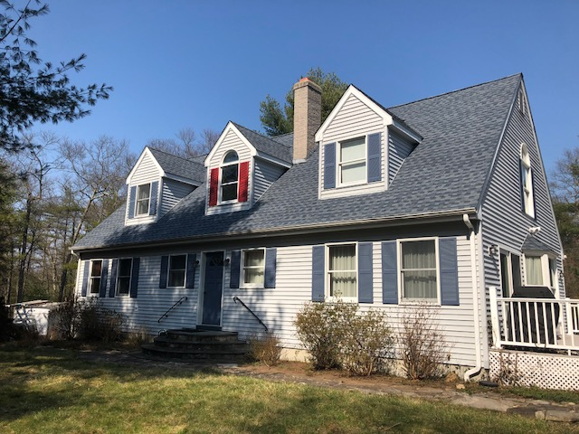 Glasgo, CT - Replaced  leaking roof with a new GAF roof system.  Timberline HD with Golden Pledge warranty.Installed new seamless gutters with leaf guard