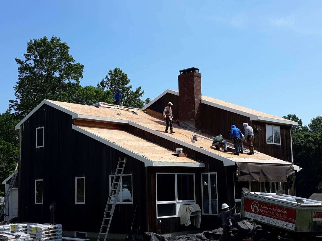 North Stonington, CT - New GAF Timberline HD Ultra roof system going on in North Stonington!