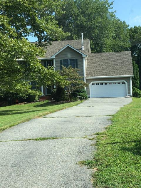 Ledyard, CT - Removed old shingles. Installed new GAF weathered wood Timberline HD roofing shingles. Golden Pledge