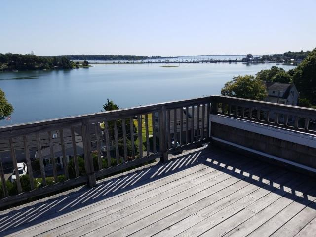 Groton, CT -  Doing a Roof inspection and Enjoying the view from this coastal property in Groton CT.
