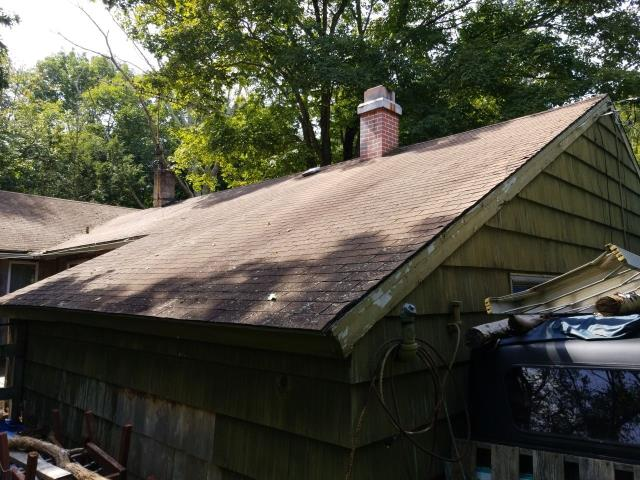 Salem, CT - Meeting with homeowner to go over options on new roof. WE recommend GAF full system warranty to all customers. Best roofing Warranty by far!