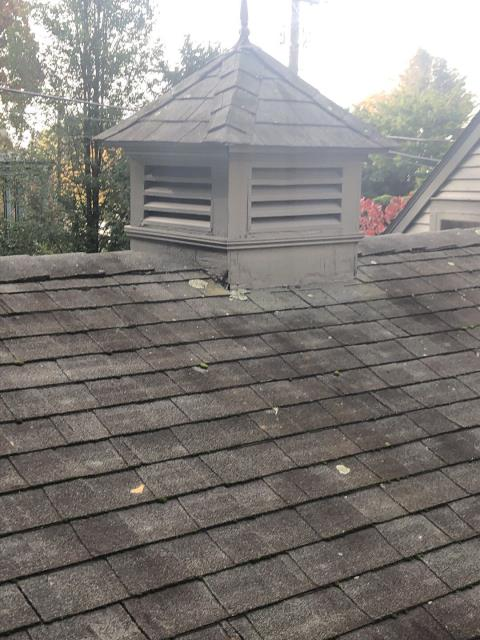 Norwich, CT - Inspecting roof in Norwich Ct for leaks. Roof is 23 Years old over a layer that is 30 years  old Roof is not breathing properly and may need replacement. Recommending a GAF roof system with factory backed warranty.
