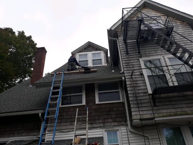 South Kingstown, RI - Roof repair Wakefield RI
