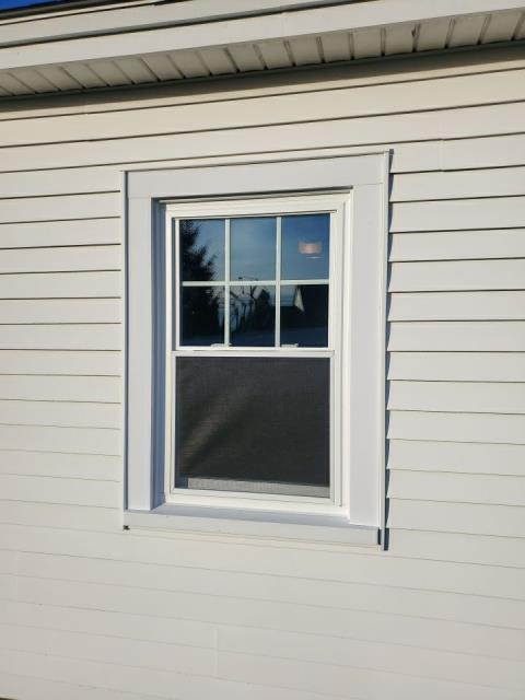 Westerly, RI - Just finished installing new Harvey replacement windows In westerly RI. Removed old windows that were outdated and not functioning.
