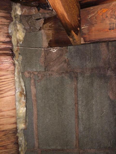 North Stonington, CT - Roof inspection in North Stonington ct. leaking around chimney