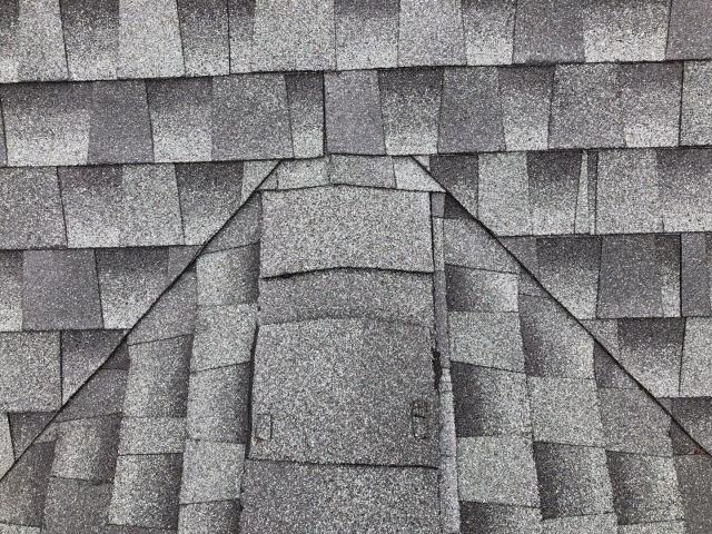 Montville, CT - Doing a roof inspection in Montville CT for GAF. This roof was not installed by a GAF Master Elite installer. We are inspecting for leaks and issues.