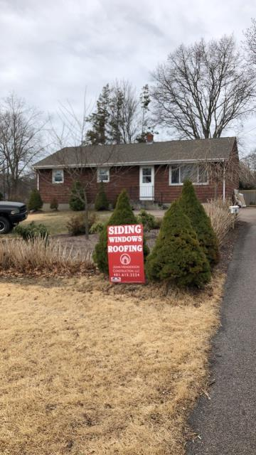 Hopkinton, RI - Home improvement project in Westerly RI. New GAF roof replacement done! New Entry Doors Done!  New Window replacement and siding starting this week!