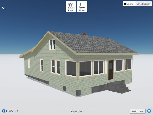 North Kingstown, RI - Working in Westerly office today going over some siding design ideas for a client in North Kingstown RI.