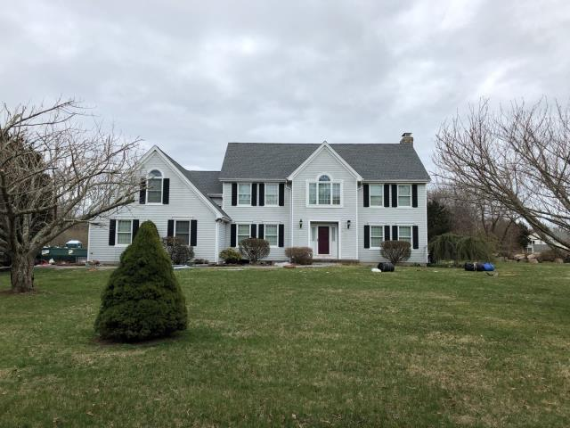 Stonington, CT - This roof is done! New roof one day no mess in Pawcatuck CT. Color pewter Grey. New Gaf timberline HDZ roof shingles installed.