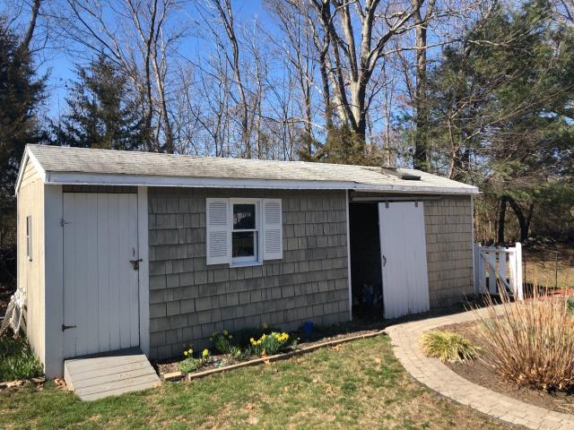 North Kingstown, RI - Measured this detached Garage for a new roof in North Kingstown RI. No roof is to small. GAF Timberline HDZ shingles will be used