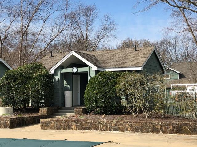 Groton, CT - It is roofing season! Time to start this 200,000 square foot roofing project. What better place to start then the pool house. This condo complex will be getting a full roof replacement in Groton Ct.