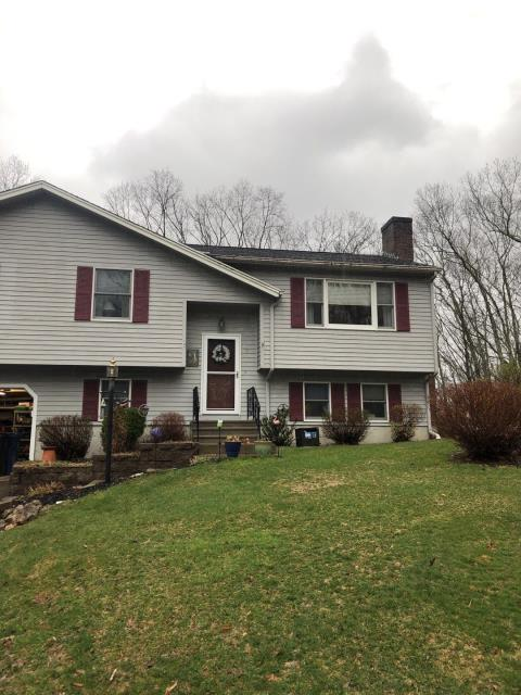 Ledyard, CT - This 2 layer roof in Ledyard CT is in need of a full roof replacement. Will be installing a new GAF roof system after removing existing shingles. Golden Pledge warranty. New roof no mess.