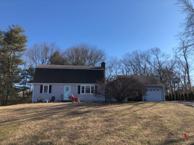 Westerly, RI - The sun came out today just in Time to measure this roof in Westerly RI.Full roof replacement using all GAF accessories will be done on this home. Golden Pledge warranty.