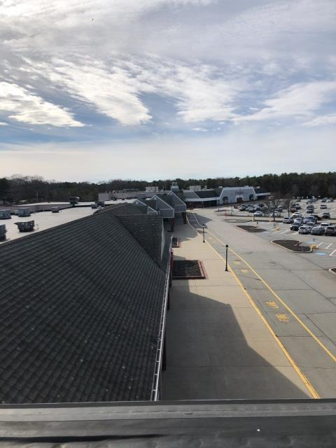 North Kingstown, RI - Getting this commercial roof In North Kingstown RI ready. Starting this roof replacement at a great time for us. Stores are all closed so it is safe with less people around. Will be installing A GAF Roof system on entire complex.