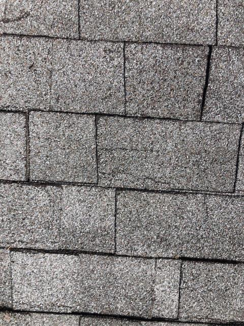 Charlestown, RI - These shingles are worn out ,cracking, and leaking. Full roof replacement is needed here in Charlestown RI. Gaf timberline hdz roof shingles will be a great choice for the new roof.