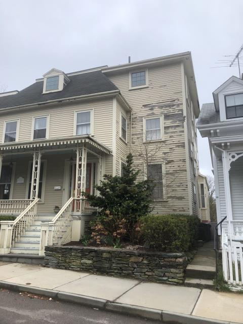 Newport, RI - This historic Newport RI house needs a full roof replacement! The site is tough but our roofing crew will use extra care to protect the property and neighbors property. New Roof no mess! New GAF Timberline HDZ roof shingles to be installed.