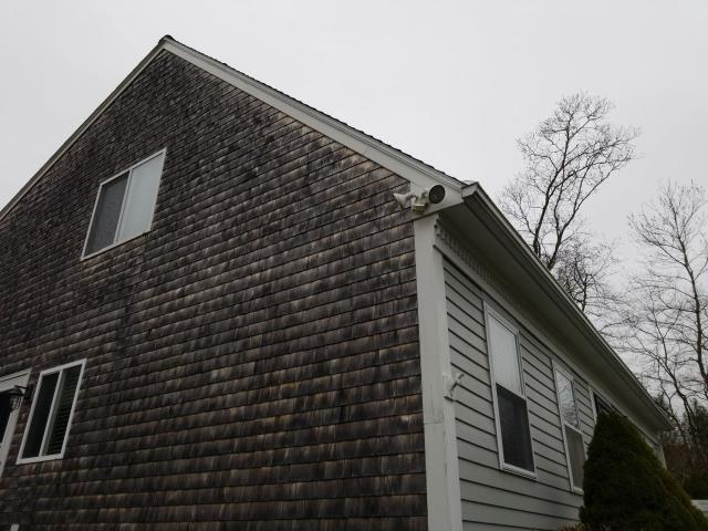 Stonington, CT - Customer saw how good our roofing crew did on their neighbors roof yesterday so we are inspecting theirs today in Pawcatuck Ct! full roof replacement for this 20 year old roof. Adding soffitt vents and new ridge vent