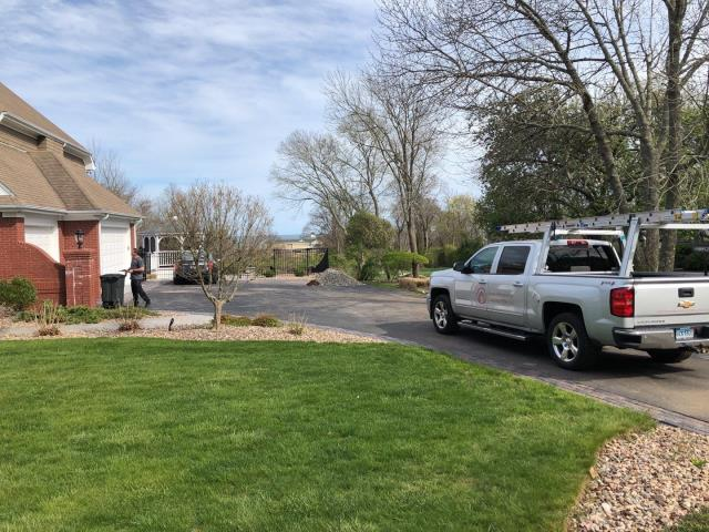 Narragansett, RI - On site In Narragansett RI doing a free roofing consultation. This 26 year old roof has multiple leaks, we will make needed temporary repairs while we are on site. A full roof replacement using GAF'S Timberline HDZ shingle will be used.