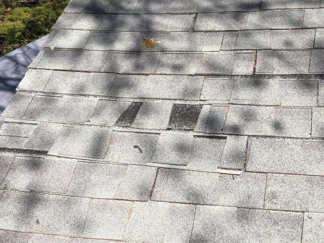 Exeter, RI - This roof Installation was done improperly. Hire a trained Master Elite contractor to avoid these common roofing issues. A full roof replacement is now needed to correct the problems. We will be using GAF Timberline Shingles.