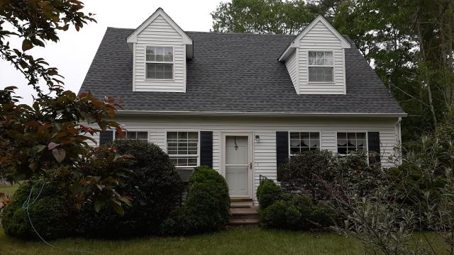 Griswold, CT - This new Roof in Griswold CT is completed. New roof in one day! Cleaned up and on to the next roof! GAF Timberline HDZ roof shingles with a golden pledge warranty