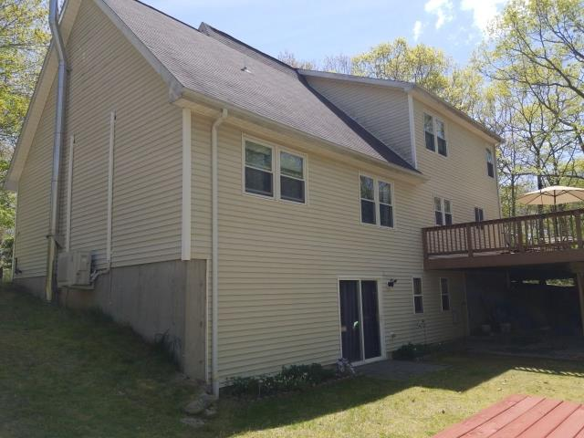 Voluntown, CT - Upcoming roof replacement in Voluntown CT. Installing new GAF Timberline Shingles